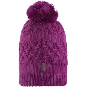 Buff Savva Knitted & Polar Fleece Hat Mardi Grape